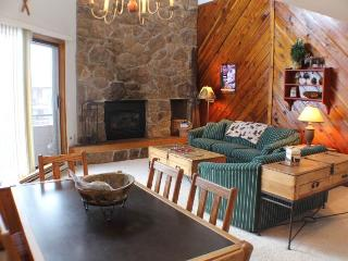 3 BR/ 3 BA, lakeside escape for 8, Great views of Lake Dillon, located in downtown Dillon - Silverthorne vacation rentals