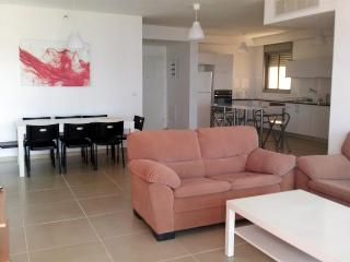Fantastic 4 bedroom apartment - Ir Yamim, by the mall - BB01 - Netanya vacation rentals