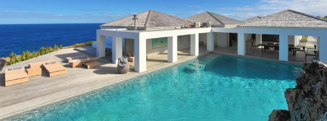 Casa Del Mar at Petit Cul de Sac, St. Barth - Ocean View, 2 Pools, Private Access To Beach - Image 1 - Petit Cul de Sac - rentals