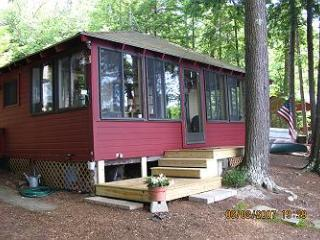 Seasonal Waterfront Cottage with Guest House on Lake Winnipesaukee (JOW266W) - Meredith vacation rentals