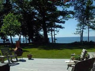Quaint Beachfront Home on Medium Bluff - Manistee vacation rentals