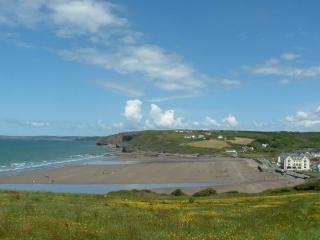 Morawelon seafront apartment with superb sea views - Broad Haven vacation rentals