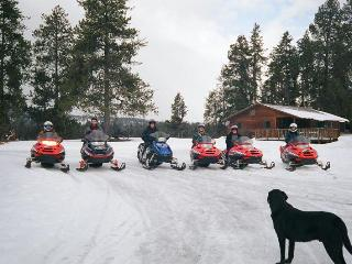 MeadowView, Snowmobile & Cross Country Ski Cabin - Montana vacation rentals