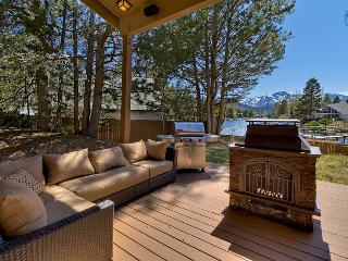 Waterfront home with private boat dock, hot tub and mountain views - Luxury Tahoe Keys Home - Mountain Village vacation rentals