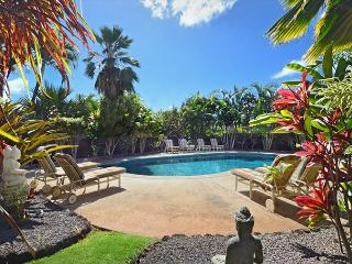 4 bedroom suites, a/c, pool, spa, ocean views, short walk to Poipu's beaches - Koloa-Poipu vacation rentals