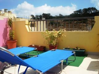 5 min away from Centre and Beach - Studio Penthouse with Terrace (AP4) - Marsascala vacation rentals