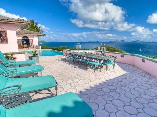 Rhumb House at Nora Hazel Point, Tortola - Ocean View, Koi Pond, Lush Atrium Garden - Tortola vacation rentals