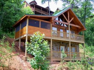 Bears Treehouse 1 BR Log Home Summer Specials - Gatlinburg vacation rentals