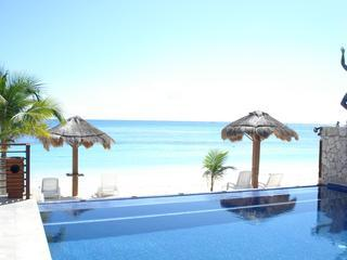 :) ahhh..ABSOLUTE HEAVEN. Peaceful 1bd Oceanfront - Puerto Morelos vacation rentals