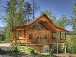 Deep Creek Overlook Luxury Log Cabin with Gameroom - Bryson City vacation rentals