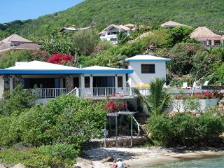 Beach Front Private Villa 3/2 with Pool and Dock - British Virgin Islands vacation rentals