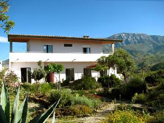 Charming villa, pool, large garden, sea view, WIFI - Malaga vacation rentals