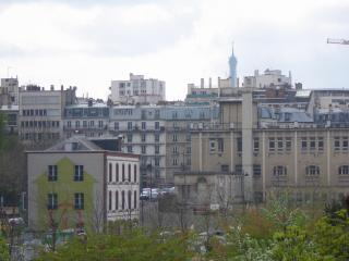 B Parisian! Elegant New Studio + Eiffel Tower View - Paris vacation rentals