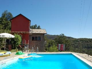 Peaceful private villa with swimming pool - San Bernardino Verbano vacation rentals