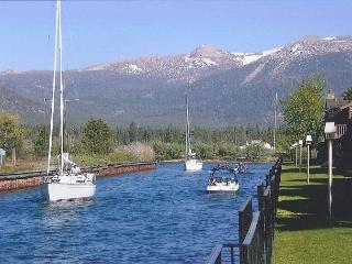 Spacious condo on the Tahoe Keys Channel - South Lake Tahoe vacation rentals
