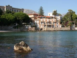 Terrace apartment in historic villa, private beach - Gaeta vacation rentals
