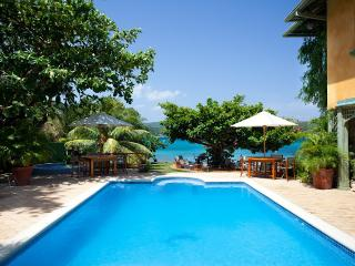 PARADISE  PKW - 99793 - PICTURESQUE | 6 BED | BEACHFRONT VILLA | WITH POOL - DISCOVERY BAY - Discovery Bay vacation rentals