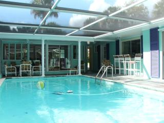 Tropical Home with heated pool & wifi near beaches - Florida Central Atlantic Coast vacation rentals