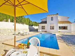 Holiday house for 8 persons, with swimming pool , in Moraira - La Llobella vacation rentals