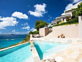 Virgin Gorda Villa 24 On A Bluff Overlooking Pond Bay And Savanna Bay Beaches And Beyond. - Terres Basses vacation rentals