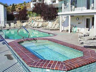 Chelan Park Pointe Condo D104, Ground Floor, Corner Unit, Community Pool - Manson vacation rentals