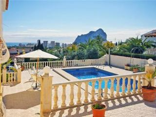 Holiday house for 6 persons, with swimming pool , in Calpe - Calpe vacation rentals