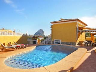 Holiday house for 8 persons, with swimming pool , in Calpe - Costa Blanca vacation rentals