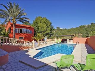Attractive holiday house for 16 persons, with swimming pool , in Moraira - La Llobella vacation rentals