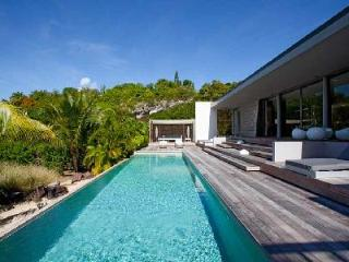 Must-see Princess X villa, sleek décor, tennis access & short walk to beach - Petit Cul de Sac vacation rentals