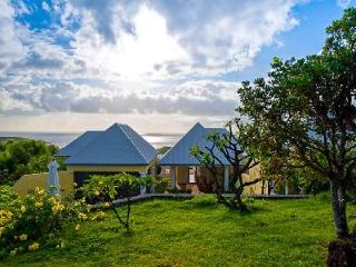 Superb Turtle Villa with outdoor living/dining area and magnificent views - Saint Barthelemy vacation rentals