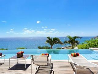 Villa Acamar features a media room, game room, fitness facility and housekeeping - Saint Barthelemy vacation rentals