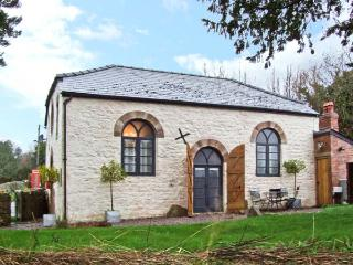 THE OLD BAPTIST CHAPEL, unique cottage, two en-suite bedrooms, woodburner, enclosed garden, near Monmouth, Ref 22484 - South East Wales vacation rentals