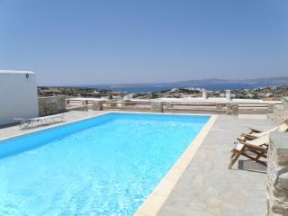 Stunning views from this couple hideaway with pool - Paros vacation rentals
