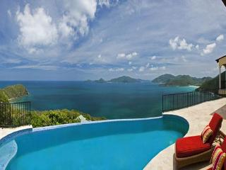 Seated on a generous one- acre lot overlooking a panorama of the Guana Islands. MAT ACE - Tortola vacation rentals