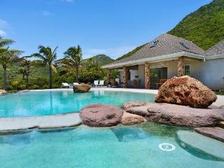 Impressive, ocean view La Roche dans l'Eau boasts a unique, beach-style pool - Grand Fond vacation rentals