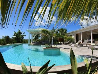 St. Martin Villa 73 A Spacious And Elegant Three-bedroom Villa Overlooking The Caribbean Sea. - Terres Basses vacation rentals