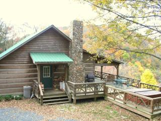 HUGE SUMMER SALE*Private Cabin*HotTub*Firepit*VIEW - Zionville vacation rentals