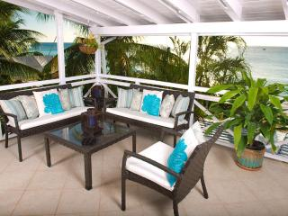 Bora Bora Upper: Chic Beachfront Apartment - Saint James vacation rentals