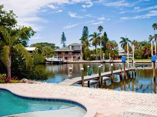 Starfish Dreams: 2BR/2BA Canal-Front Home with Dock and Pool - Holmes Beach vacation rentals