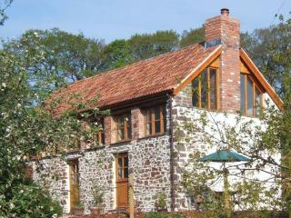 PRIMROSE COTTAGE, character barn conversion, woodburner, views, garden, Burrington, Chulmleigh Ref 23231 - Chulmleigh vacation rentals