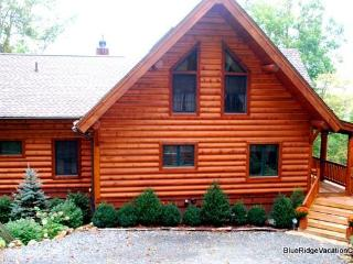 HIGHLAND GAMES*Custom Cabin*VIEW*Hottub*PoolTable - Valle Crucis vacation rentals