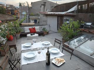 Terrace in Rome! La Torre, an extraordinary experience in a Medieval tower in Historical Center of Rome. - Lazio vacation rentals
