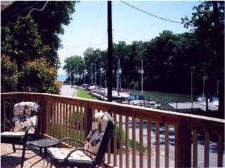 View from Deck - Harbor Cottage at the Chesapeake Bay - Saint Leonard - rentals