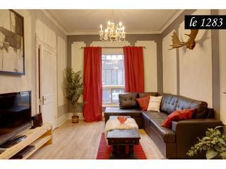 Le Petit Château, Heart of Plateau Mont-Royal. - Quebec vacation rentals