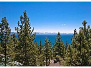 Panoramic view of Lake Tahoe from most every room in this home - Dollar Point Luxury Retreat-Large Family Retreat - Tahoe City - rentals