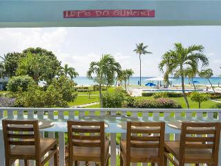 SILVER SANDS CONDOS-24 CLASSY WITH DIRECT SEA VIEW - Seven Mile Beach vacation rentals