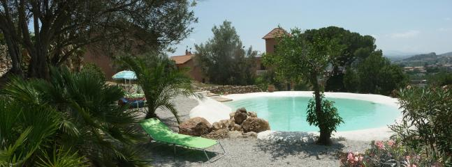 Garden and swimming pool - Romantic suite Fico nero with pool, garden and art - Bagheria - rentals