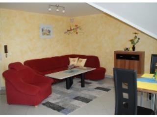 Living Room (1) - Vacation Apartment in Oberthulba - new, modern, bright (# 3840) - Oberthulba - rentals