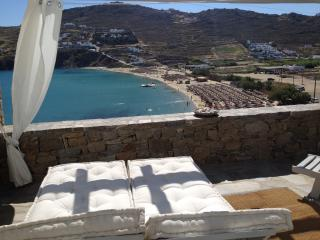 HOUSE (3 PRIVATE BEDROOMS) BY THE BEACH OF KALO LIVADI WITH SEA VIEW - Mykonos vacation rentals