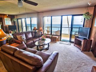 Poipu Shores 201A 2BR Oceanfront. Updated. - Koloa vacation rentals